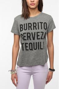Le Shirt Burrito Cerveza Tequila Tee -- urbanoutfiters.com