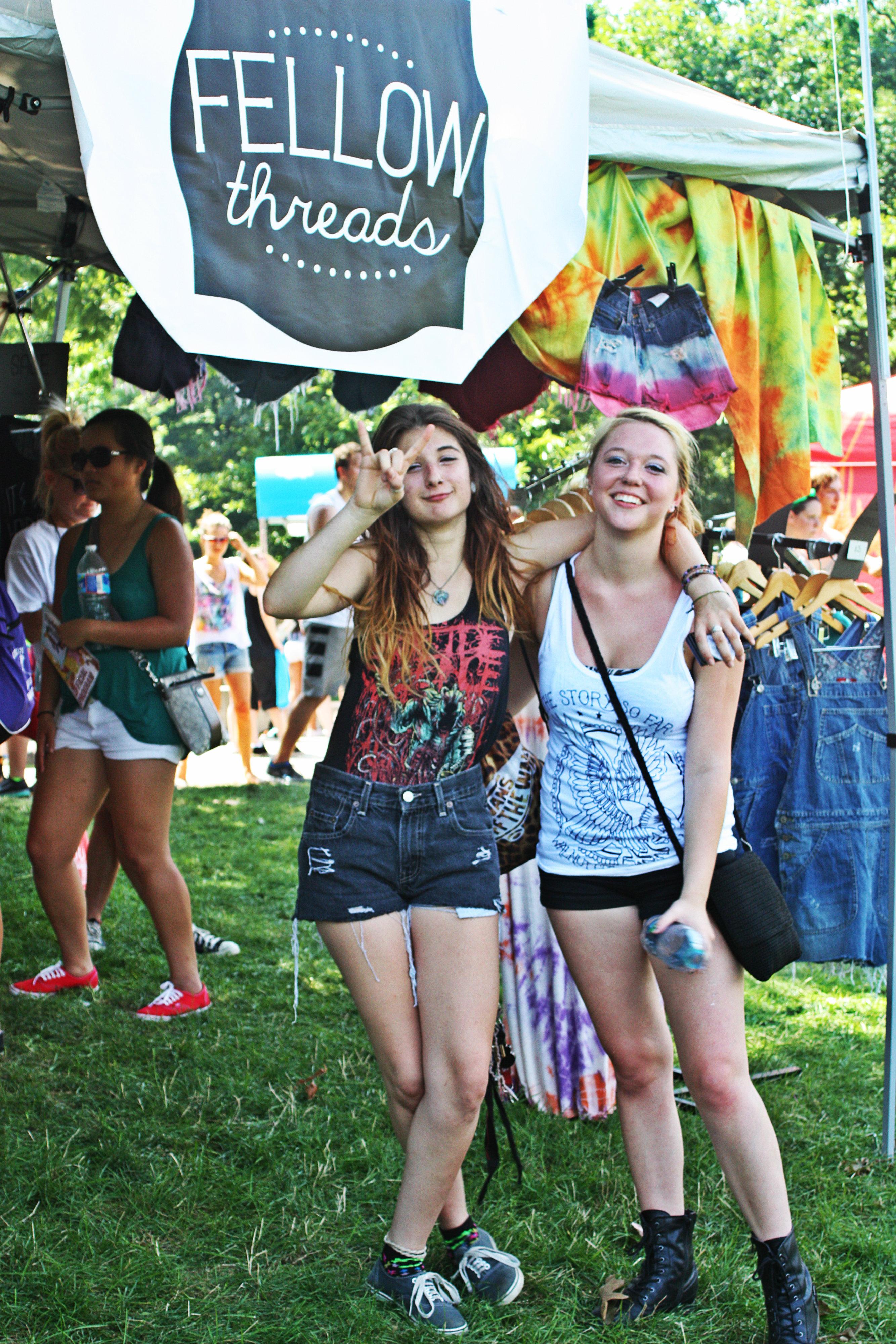 Warped Tour Clothing Vendors
