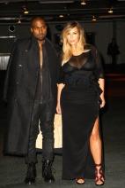 Kanye West, Kim Kardashian - Givenchy