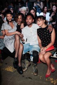 Rihanna, Melissa Forde, Miguel, Rashida Jones - Opening Ceremony
