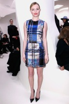 Kate Bosworth Christian Dior Spring 2014 Couture style.com