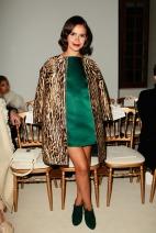 Miroslava Duma Giambattista Valli Spring 2014 Couture style.com