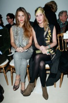 Solène Hebert & Juliette Maillot Giambattista Valli Spring 2014 Couture style.com