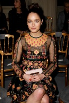 Matilde Gioli Valentino Spring 2014 Couture style.com
