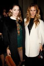 Sofia Sanchez Barrenechea and Alexia Niedzielski Valetino Spring Couture 2014 style.com